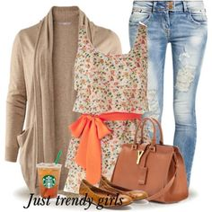 floral tunic dress Early spring outfits http://www.justtrendygirls.com/early-spring-outfits/