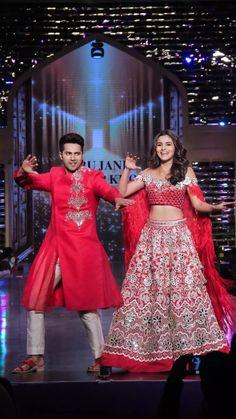 We belong together Bollywood Bridal, Bollywood Couples, Bollywood Celebrities, Bollywood Fashion, Bollywood Actress, Alia Bhatt Varun Dhawan, Aalia Bhatt, Alia Bhatt Cute, Alia And Varun
