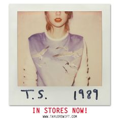 IT'S OUT IT'S OUT IT'S OUT  THIS IS NOT A DRILL  GO GO GO #TS1989