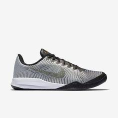 Nike KB Mentality II Mens Basketball Shoes 9.5 Platinum Gold 818952 005  KOBE…
