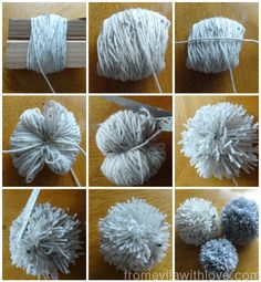 step by step guide on how to make pom pom