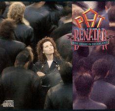 Pat Benatar - Wide Awake In Dreamland (Chrysalis Records) Pat Benatar, Music Covers, Album Covers, Rock Hits, Women Of Rock, Wide Awake, Workout Music, Joan Jett, Vintage Records