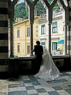 flickr photo credit: moonjazz    Wedding in Amalfi , Italy  'It looked like a painting to me so I couldnt resist a few shots of the bride and groom as I went on my tour of the wonderful Amalfi Cathedra on the southwest coast of Italy. I'd call it a storybook romance and wish them the best.'