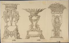 Designs for Two Serving Dishes and a Planter Poster Print by Anonymous French 19th century (18 x 24) >>> See this great product.