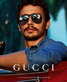 James Franco for Gucci