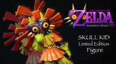 The Legend of Zelda: Majoras Mask – Skull Kid Limited Edition You Are My Friend, Nintendo 3ds, Legend Of Zelda, Action Figures, Skull, Learning, Summer Sale, Statues, Kids
