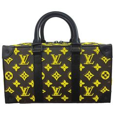 ll➤ Discover luxury pre-owned LOUIS VUITTON Bags for Men, Luxury and Fashion Designer bags at hand! Mellow Yellow, Bright Yellow, Pre Owned Louis Vuitton, Vuitton Bag, Easy Access, Luxury Consignment, Trunks, Satchel, Bands