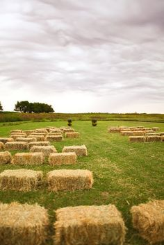 Hay Bales seating