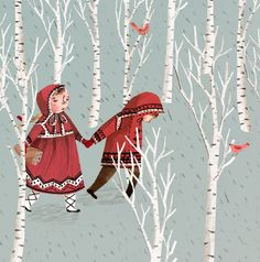 "fairytalemood: ""Hansel and Gretel"" by Emma Block"