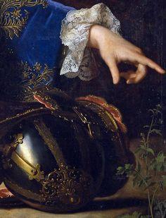 Jean Ranc,Portrait of Philip V of Spain,) 1723 #Art #Detail