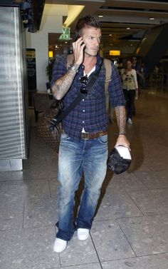 David Beckham Fashion and Style