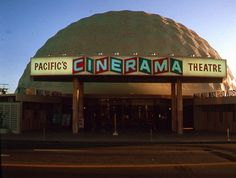Cinerama Dome opening in 1964-Pacific Theatres's Cinerama Dome is a movie theater located at 6360 Sunset Boulevard in Hollywood, California. Designed to present widescreen Cinerama films, it opened November 7, 1963