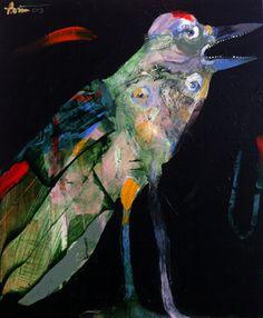 Rick Bartow - Becoming Crow , 2013