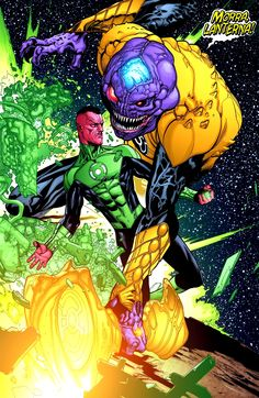 Green Lantern Sinestro by Doug Mahnke