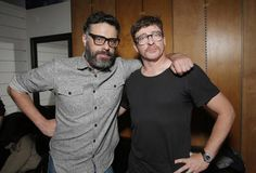 Jemaine Clement and Rhys Darby. aka Vladislav and Anton. Shadow Pictures, Boy Pictures, Jemaine Clement, Flight Of The Conchords, Dream Dates, Feature Film, Anton, Funny People, Cute Boys