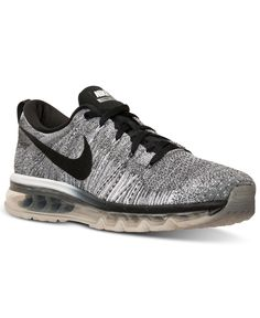 best authentic c5692 a404f Nike Men s Flyknit Air Max Running Sneakers from Finish Line Men - Finish  Line Athletic Shoes - Macy s