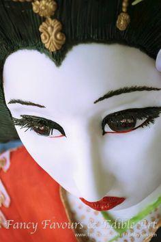 geisha themed cake - Google Search
