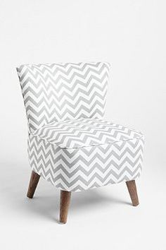 Zig-zag pattern. Great shape. Gray. What more is there to say? From Urban Outfitters.