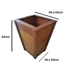 Planter Box Plans, Planter Boxes, Small Wood Projects, Diy Garden Projects, Diy Garden Furniture, Furniture Projects, Wooden Planters, Diy Home Crafts, Woodworking Furniture