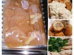 節約☆冷凍で柔らかい♥鶏胸肉保存&下味!の画像