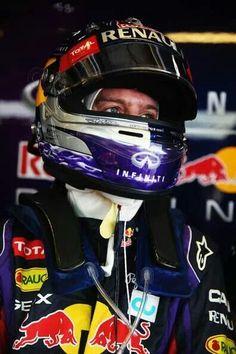 Sebastian Vettel @ the 2013 Formula 1 Grand Prix @ Yas Marina, Abu-Dhabi