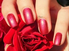 Essence Nail Art Magnetics, 09 Magic Red Carpet #essence