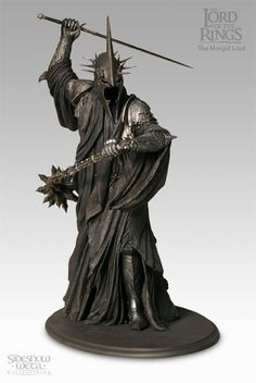 Lord of The Rings Morgul Lord Witch King of Angmar Statue Sideshow 374 9500