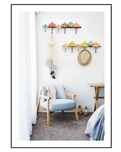 1 Decor, Clothing Rack, Mediterranean Style, Wall Hooks, Gallery Wall, Wall, Home Decor, Coat Hanger, Hanger
