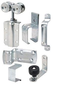 Buy the Hardware House 520304 Barn Door Install Kit, Square Track at Hardware World