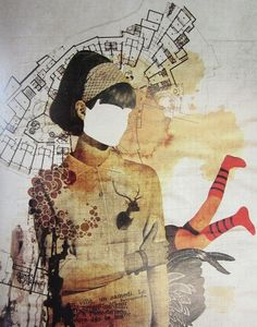 Eduardo Recife- on of the famous collage artists who works with ideas I am trying to look at within missing some of the picture showing she is not complete? I can relate to his work learning about him in my taster sessions. #collage