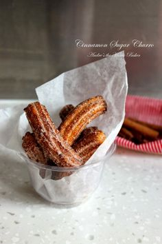 Cinnamon Sugar Churros