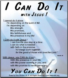 I Can Do It With JESUS!