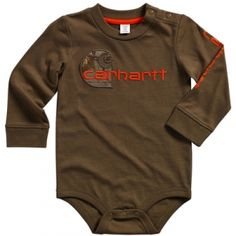 Find the Carhartt Infant Camo C Bodyshirt - Dark Brown by Carhartt at Mills Fleet Farm.  Mills has low prices and great selection on all Infant & Toddler.