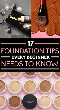 17 Foundation Tips Every Beginner Needs To Know - Beauty New Sephora Eyeshadow Palette, Eyeshadow Tips, Eye Makeup Tips, Makeup Hacks, Makeup Products, Beauty Products, Diy Makeup, Makeup Brush, Beauty Makeup