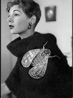 Elsa Schiaparelli, Vintage Outfits, Vintage Fashion, 1930s Fashion, Modern Fashion, High Fashion, Winter Fashion, Powerpuff Girls, Equestria Girls