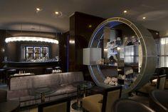 PORTFOLIO STUDIO SIMONETTI: American Bar@Bentley Hotel, Genoa, architectural project of interiors,  (credits Saverio Lombardi Vallauri) #studiosimonetti #progettoalberghiero #bentleyhotelgenova #meliagenova #hotel5stellelusso