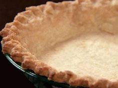 Ingredients: Serves: 8Yield: Makes 2 pie crusts 2 cups all-purpose flour, sifted 1 teaspoon salt 2/3 cup butter or 2/3 cup shortening (we used Crisco) 5 -7 tablespoons cold water Directions: Put flour into a mixing bowl with the shortening Using a pastry cutter,