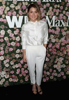 Actor Sasha Alexander attends Max Mara Celebration of Zoey Deutch as The 2017 Women In Film Max Mara Face of The Future Award Recipient at Chateau Marmont on June 12, 2017 in Los Angeles, California.