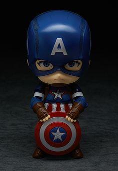 ねんどろいど キャプテン・アメリカ ヒーローズ・エディション