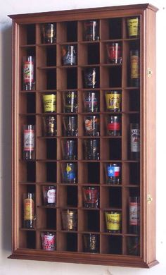 Shotglass Collector Case   54 Shot Glass