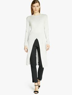Halston - Cotton Cashmere Sweater