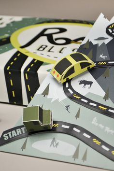 Board Game: Road Blocked on Behance