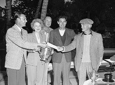 On March 11, 1947 Over 4,000 people showed up to watch Ben Hogan team with one of the nation's leading polo players Mike Phipps, an 11-handicapper to win the Reed Latham amateur-professional golf tournament