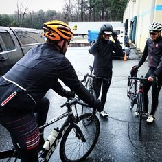 Product testing new Performance Ultra gear on a rainy #lunchride today #rideallyear #rainbike