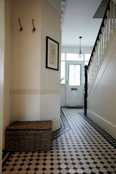 From marble slabs to mosaic patterns, discover the top 50 best entryway tile ideas. Explore rustic to modern foyer flooring design inspiration. Entryway Tile Floor, Entry Tile, Foyer Flooring, Tiled Hallway, Dark Hallway, Door Entry, Tiled Floors, Hallway Paint, Entry Hallway