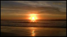 Relax: 9 High Quality Minutes of Beach Sunset and Surf in 1080 HD