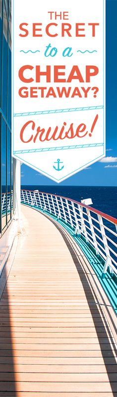 Find the best deals on Carnival and other cruise lines now!