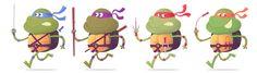 PLANET-PULP // CELEBRATING PULP CULTURE: Turtle Power