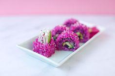 Vegan Pink Magic Sushi