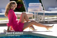 Juicy Couture Spring 2015 | Edita Vilkeviciute por Hans Feurer [Campaign]